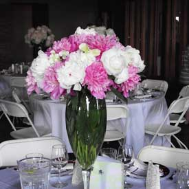 Table Decor at Wedding Reception